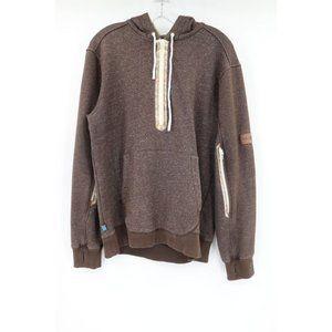 Gluhwein men's M adidas burton hooded pullover